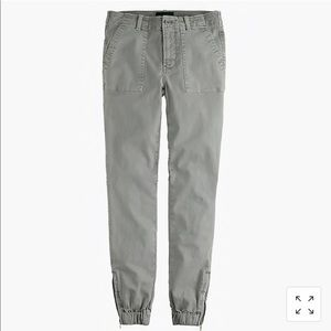 J Crew slim cargo pants in Stretch chino Sz 8